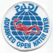 PADI diving course